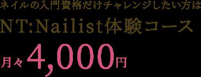NT:Nailist体験コース
