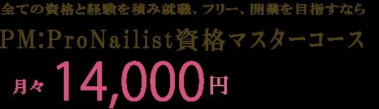 ProNailist資格マスターコース